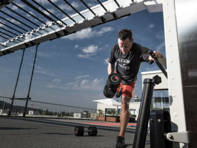 Mark Streit im pure fitness